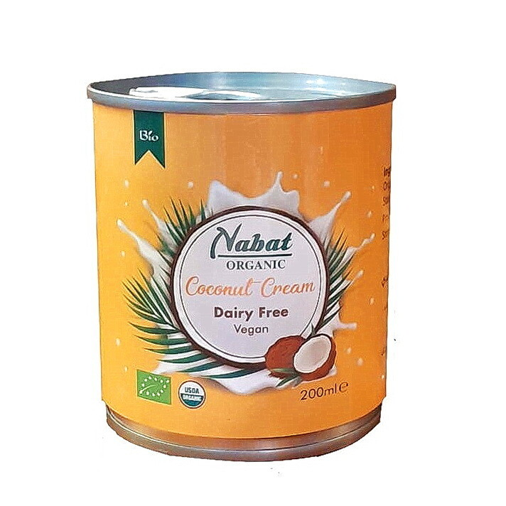 Coconut Cream Organic كريم اللوز عضوي (Can) - Nabat