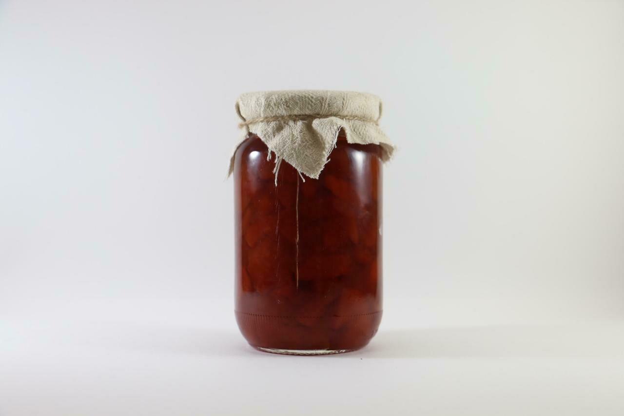 Quince Jam سفرجل مربى (Jar)  - The Green Van Permaculture