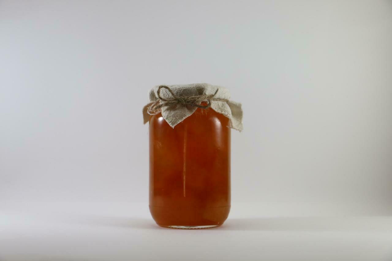 Pumpkin Jam مربى اليقطين (Jar)  - The Green Van Permaculture