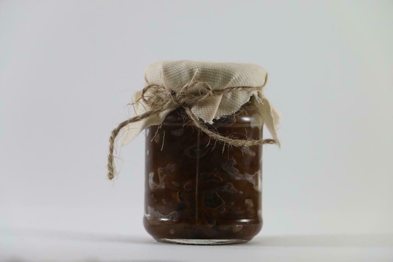 Onion Jam مربى البصل (Jar)  - The Green Van Permaculture