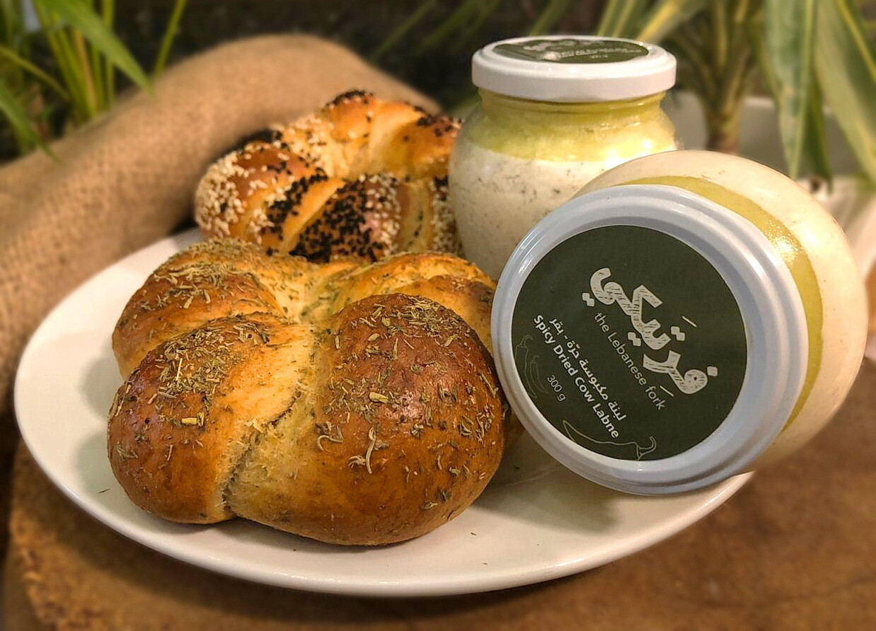 Labneh Cow and Bread OFFER - Fertaike