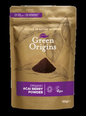 Acai Berry Powder Organic (Bag) - Green Origins