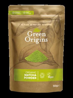 Matcha Green Tea Powder Organic (Bag) - Green Origins