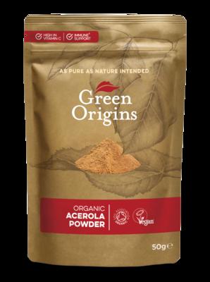 Acerola Powder Organic (Bag) - Green Origins