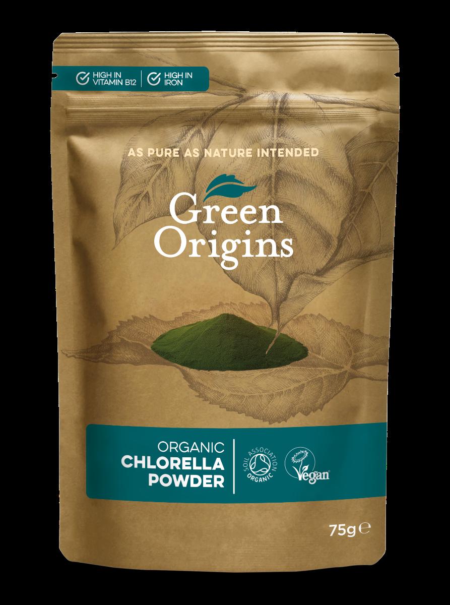 Chlorella Powder Organic (Bag) - Green Origins