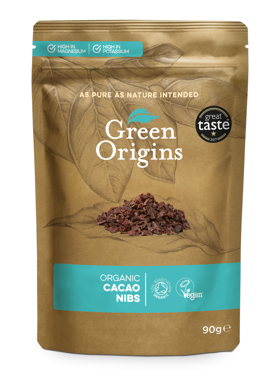 Cacao Nibs Organic (Bag) - Green Origins