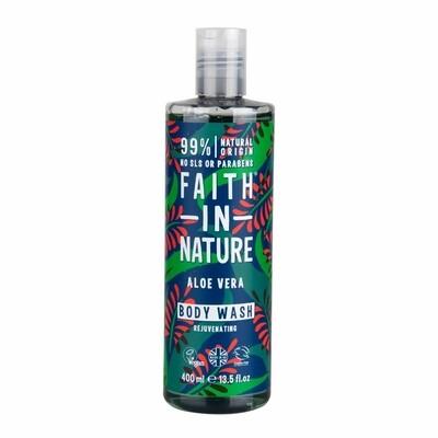 Body Wash Aloe Vera (Bottle) - Faith in Nature