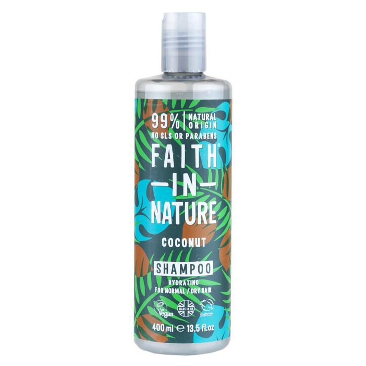 Shampoo Coconut (Bottle) - Faith in Nature