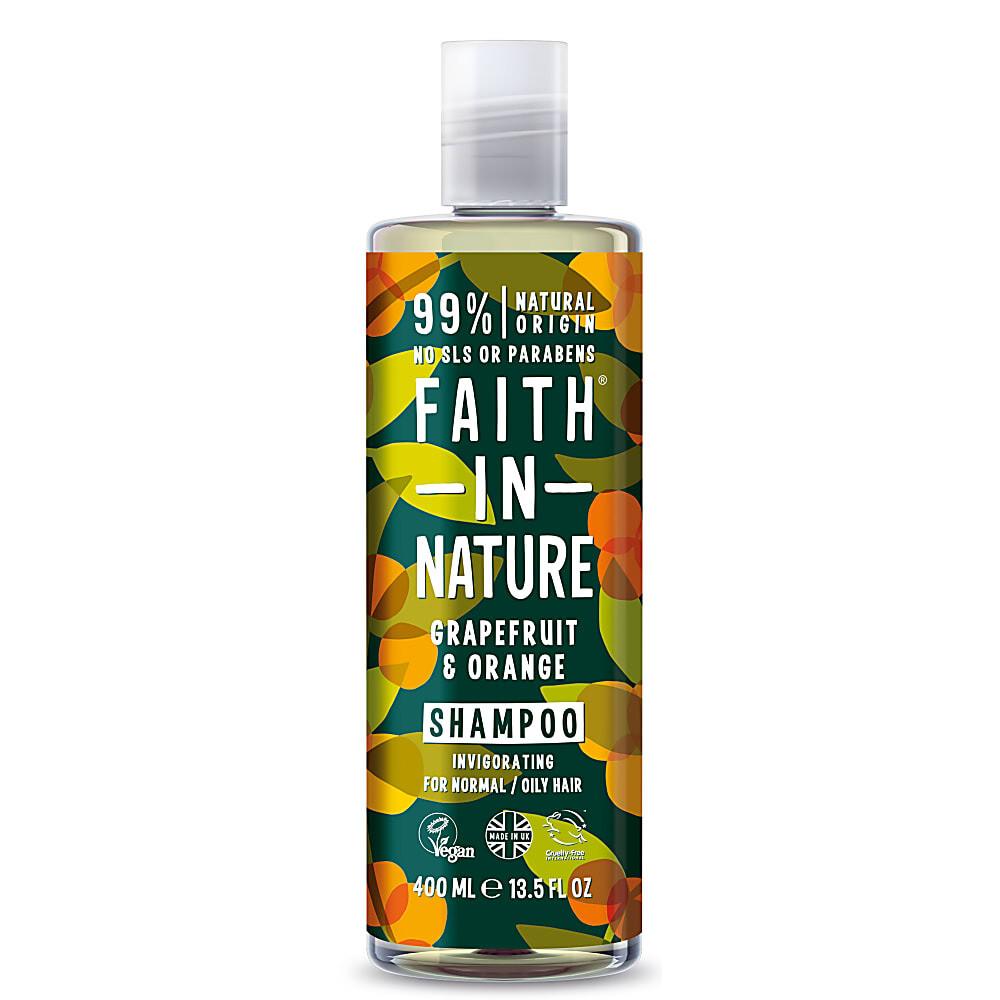 Shampoo Grapefruit and Orange (Bottle) - Faith in Nature