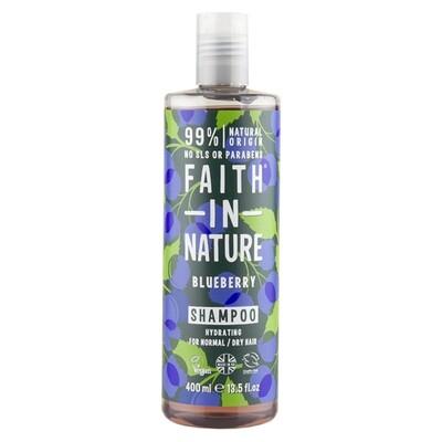 Shampoo Blueberry (Bottle) - Faith in Nature