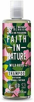 Shampoo Wild Rose (Bottle) - Faith in Nature