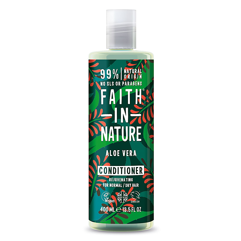 Conditioner Aloe Vera (Bottle) - Faith in Nature