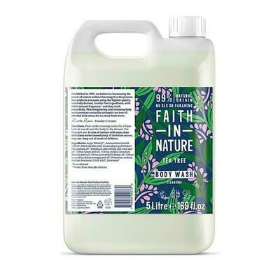 Body Wash Tea Tree (Bottle) - Faith in Nature
