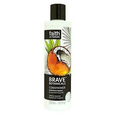 Conditioner Brave Botanicals Coconut & Frangipani (Bottle) - Faith in Nature