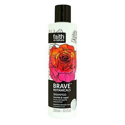 Shampoo Brave Botanicals Rose & Neroli (Bottle) - Faith in Nature
