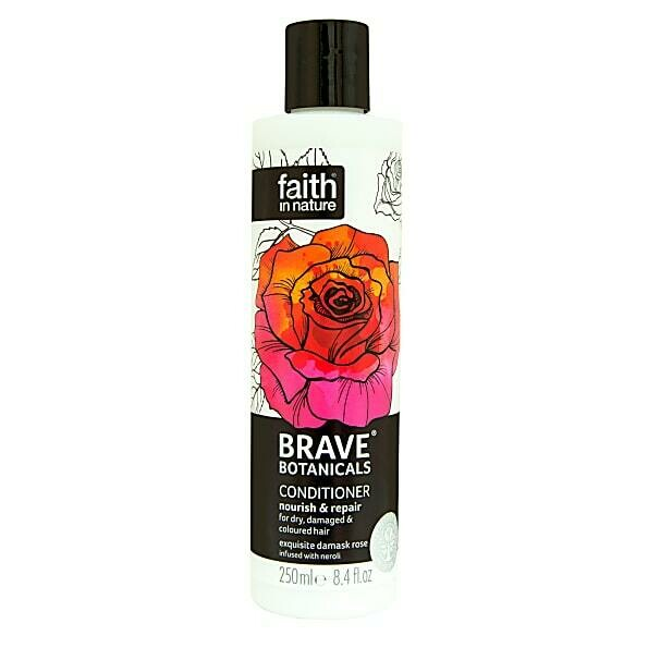 Conditioner Brave Botanicals Rose & Neroli (Bottle) - Faith in Nature