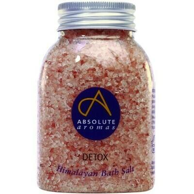 Himalayan Bath Salt Detox (Jar) - Absolute Aromas