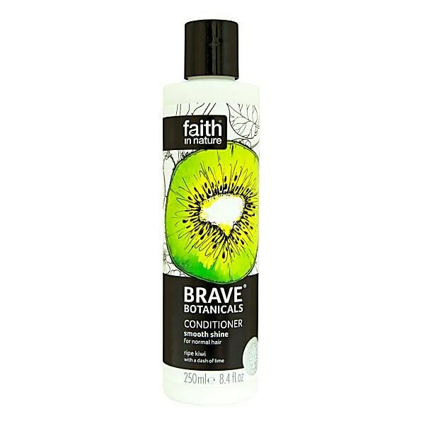 Conditioner Brave Botanicals Kiwi & Lime (Bottle) - Faith in Nature