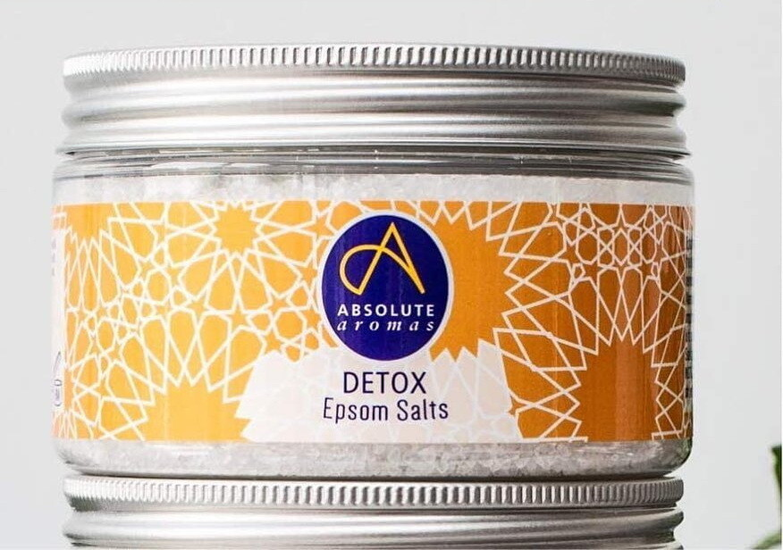 Epsom Salt Detox (Jar) - Absolute Aromas