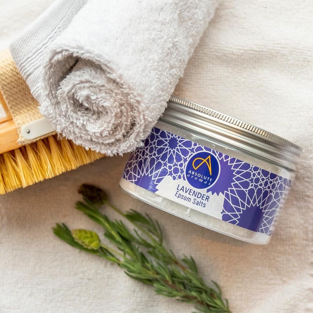 Epsom Salt Lavender (Jar) - Absolute Aromas