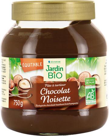 Pâte à Tartiner Noisette Cacao (Jar) - Jardin Bio