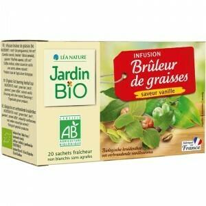 Infusion Bruleur De Graisses Bio (Pack) - Jardin Bio