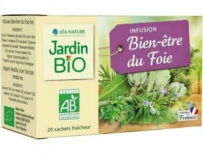 Infusion Bien Être du Foie (Pack) - Jardin Bio