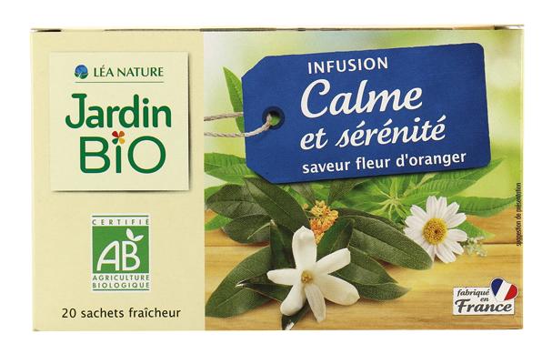 Infusion Calme Et Serenite Bio (Pack) - Jardin Bio