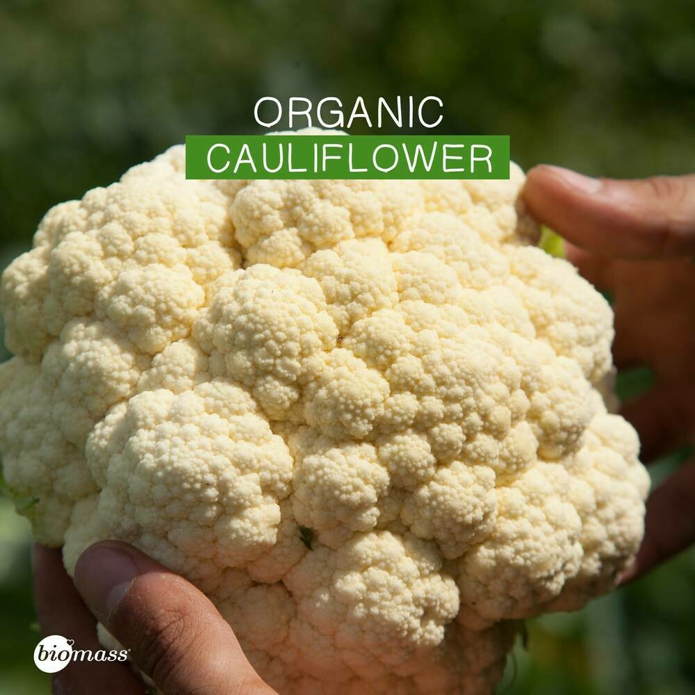Cauliflower Organic (Bunch) - Biomass