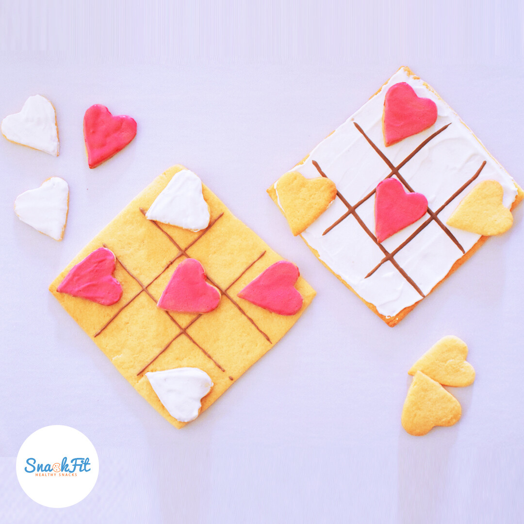Valentine's Cookies (Game of XOXO) - Snackfit