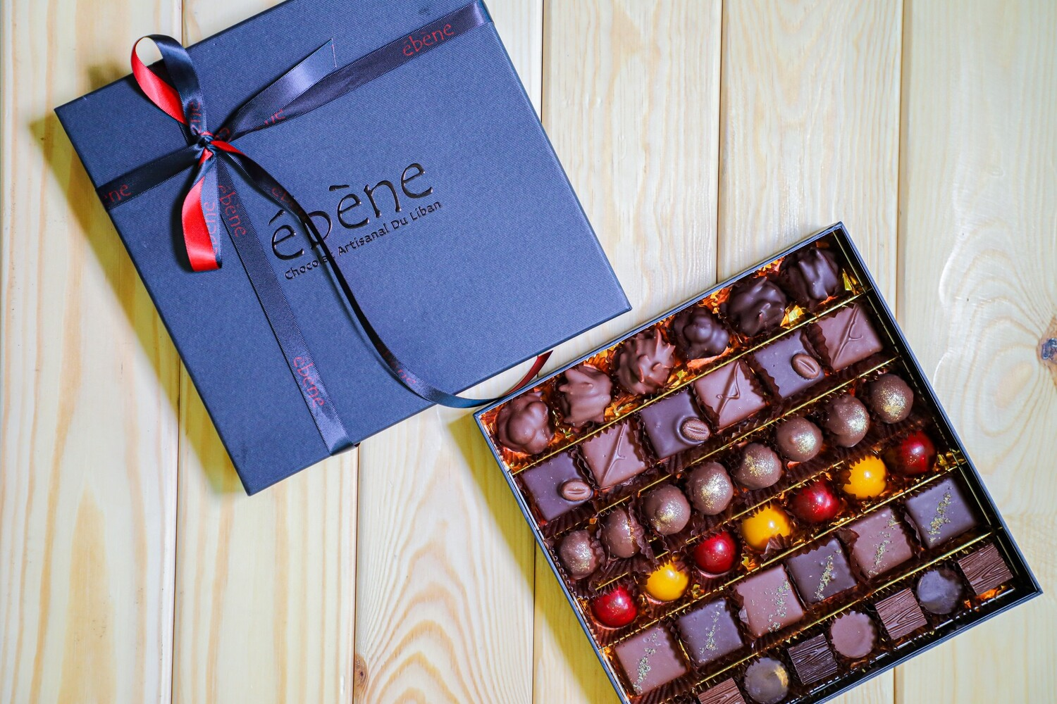 The Love Chocolate (Box) - Ebene