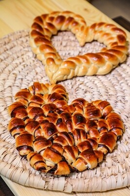 Brioche Heart of Chocolate (Piece) - Crafting Delices