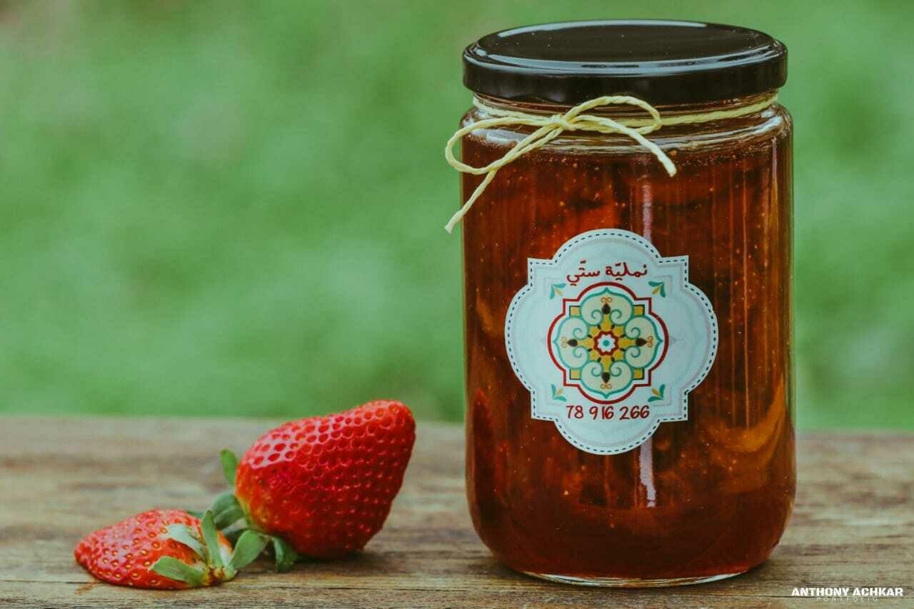Strawberry Jam مربى الفراولة (Jar) - Namliyet Setti
