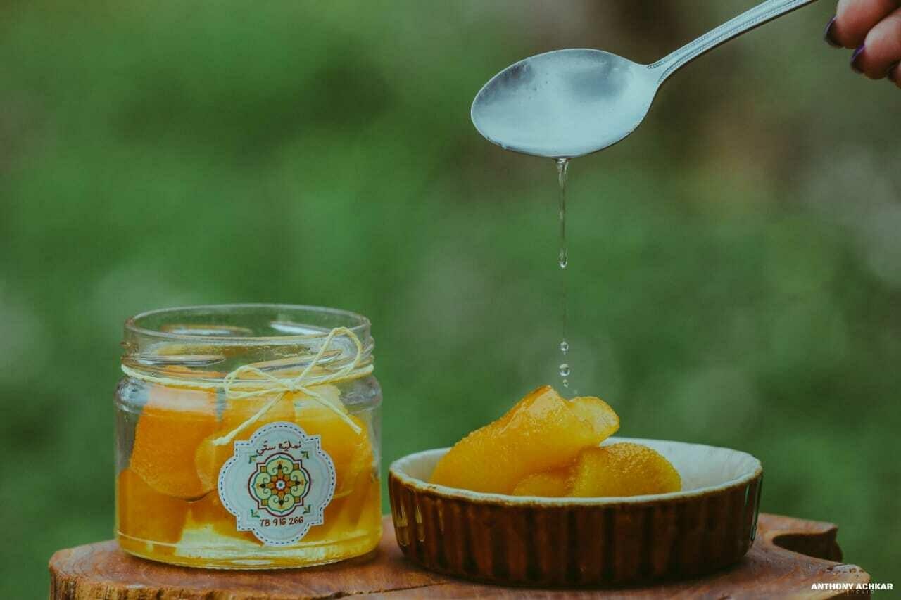 Bitter Orange Peels Jam مربى أبو صفير (Bottle) - Namliyet Setti