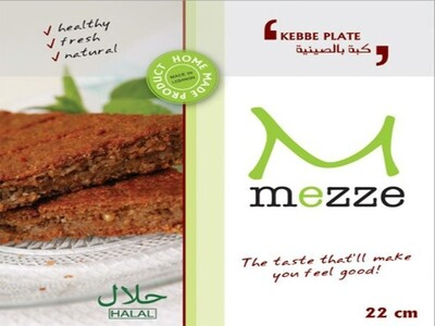 Pastries Frozen Kebbeh Plate (Pack) - Mezze
