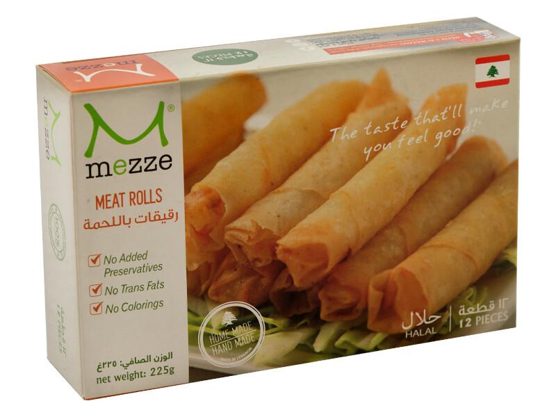 Pastries Frozen Meat Rolls (Pack) - Mezze