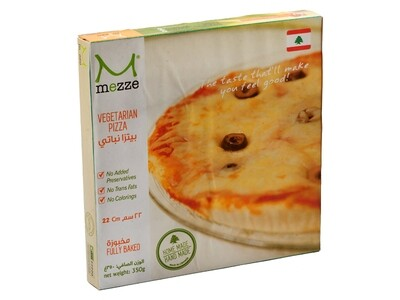 Pastries Frozen Pizza Plate - Vegetarian (Pack) - Mezze