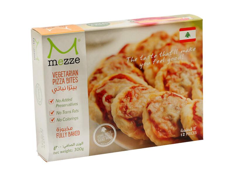Pastries Frozen Pizza Bites - Vegetarian (Pack) - Mezze