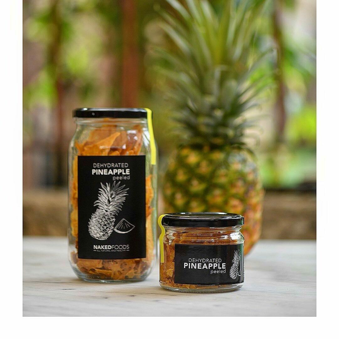 Pineapple Peeled (Jar) - Naked Foods