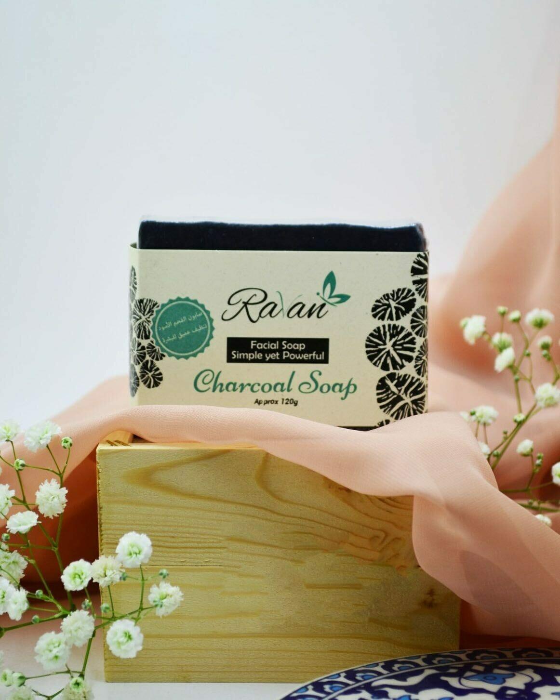 Soap Charcoal (Bar) - Ravan