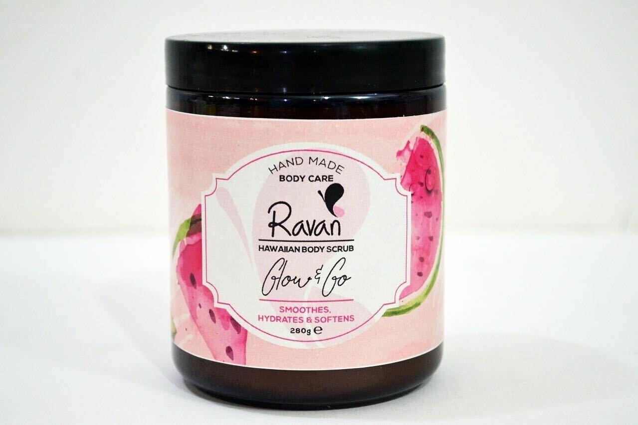 Body Scrub Hawaiian Sugar (Jar) - Ravan