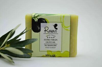 Soap Extra Virgin Olive Oil (Bar) - Ravan