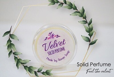 Perfume Solid (Jar) - Ravan