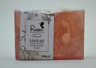 Soap Loofah Flower (Bar) - Ravan
