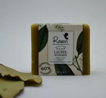 Soap Laurel 60% (Bar) - Ravan