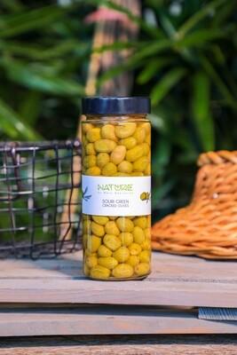 Olives Green Cracked الزيتون الأخضر (Jar) - Nature by Marc Beyrouthy