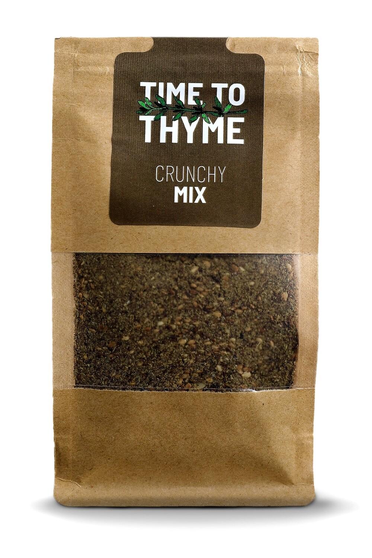 Thyme / Zaatar Crunchy Mix (Bag) - Time to Thyme