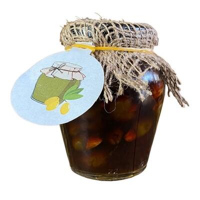 Compote Olive and Almonds (Jar) - Eshmoon