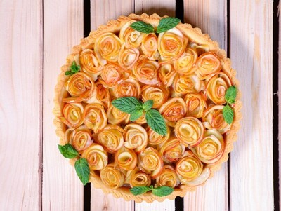 Tart Caramel Apple Rose (Piece) - Nuturals