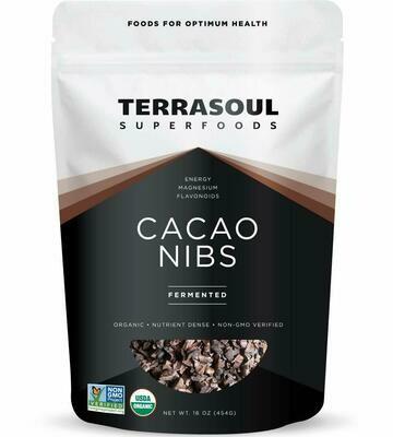 Cacao Nibs (Bag) - Terrasoul Superfoods